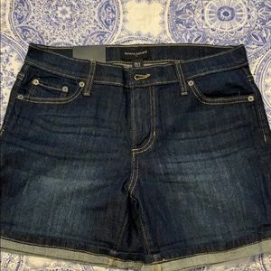 J crew, brand new with tags size 2 denim shorts
